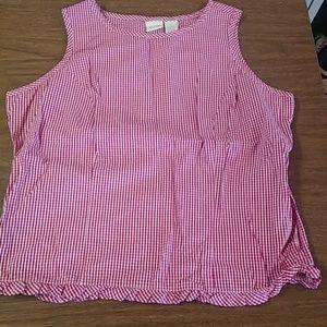 Dressy tank blouse